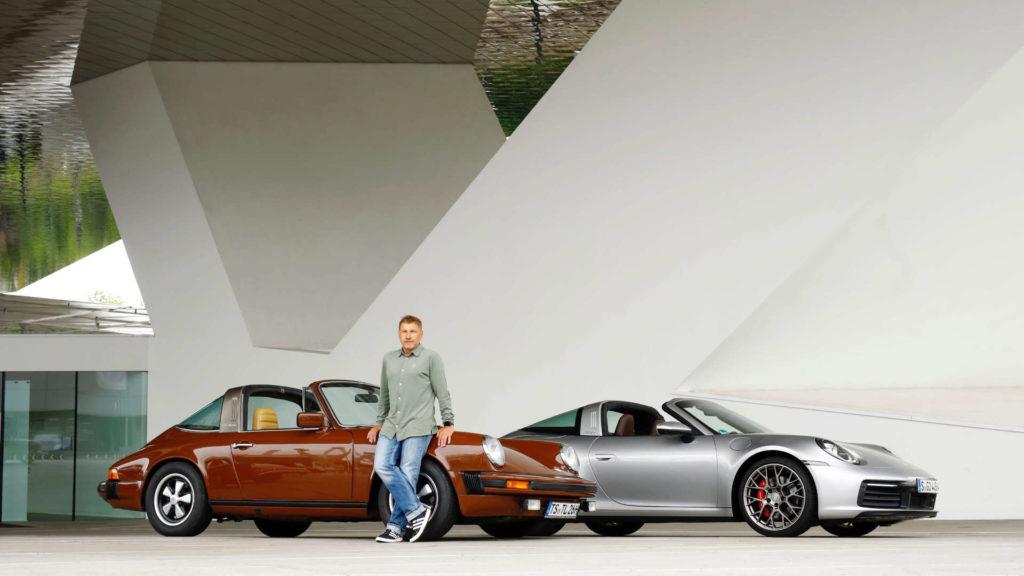 Richy Müller 911 Targa