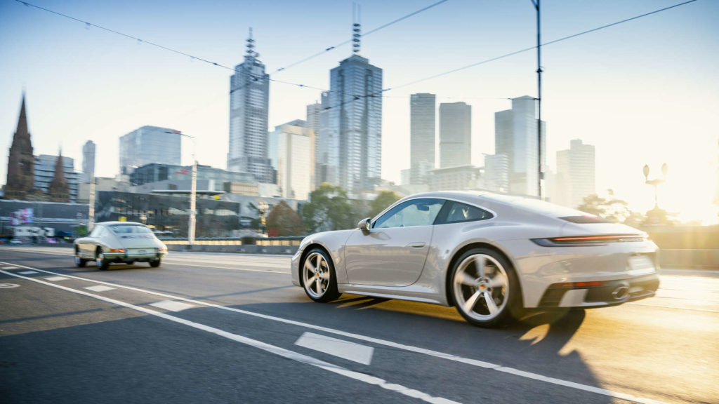 Porsche 911 Australien