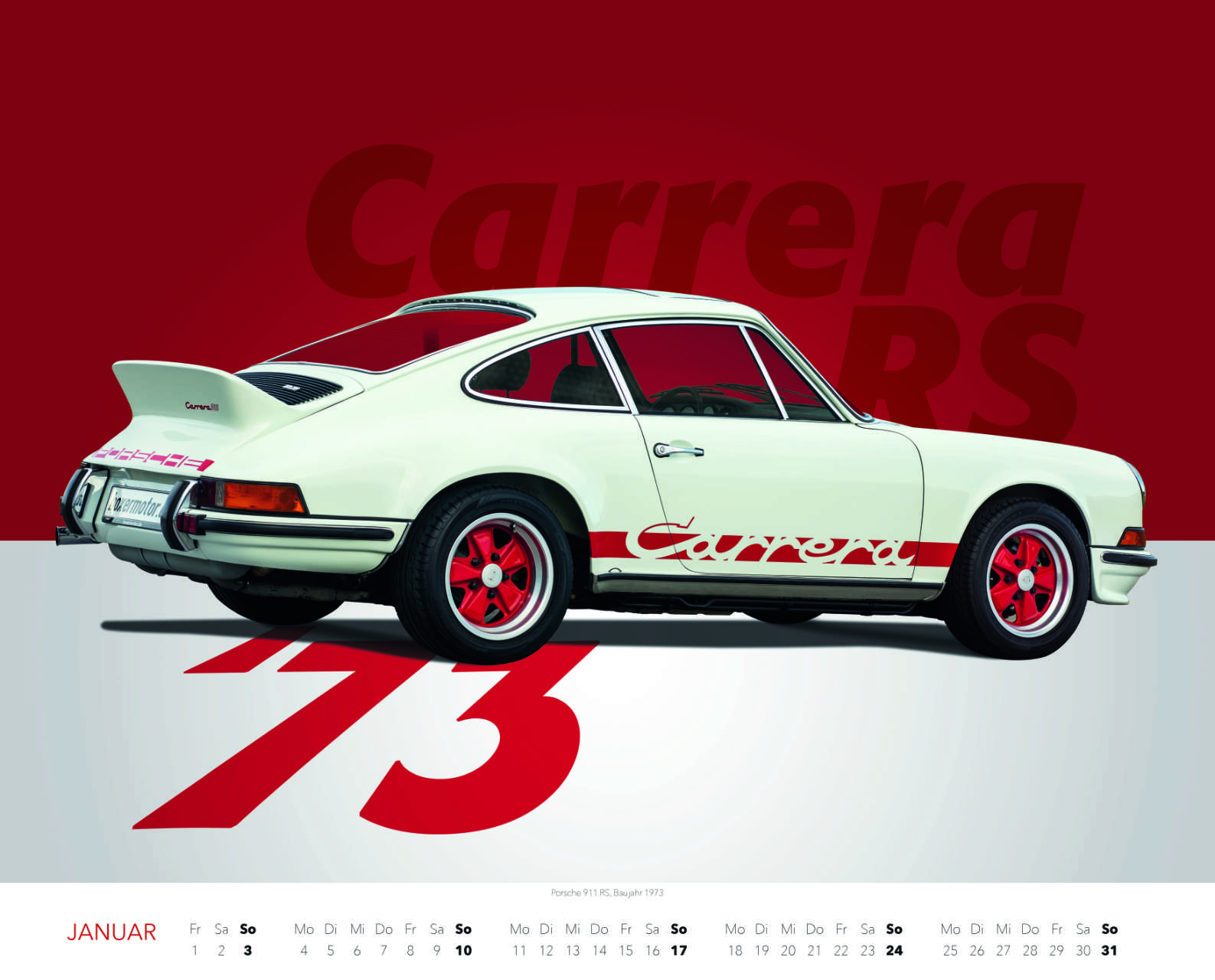 Best of Zuffenhausen 2021 Januar Porsche 911 Carrera RS