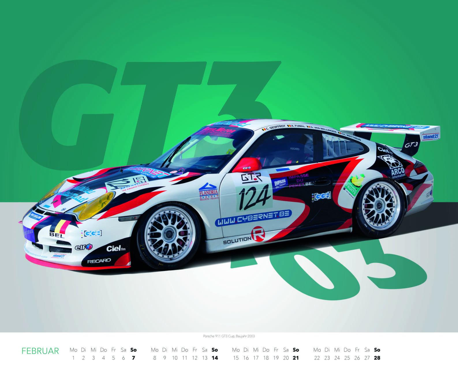 Best of Zuffenhausen 2021 Februar Porsche 911 GT3