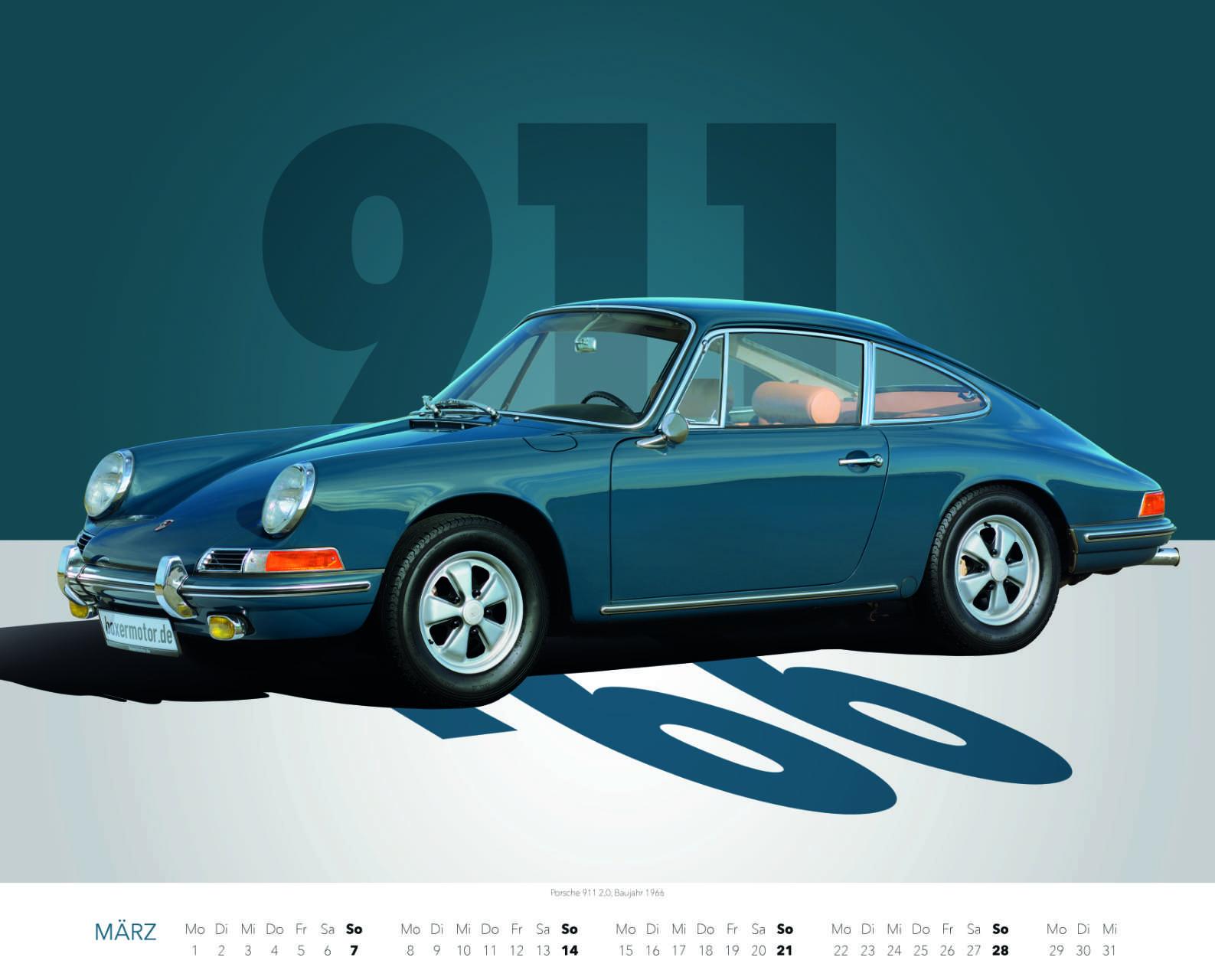 Best of Zuffenhausen 2021 März Porsche 911