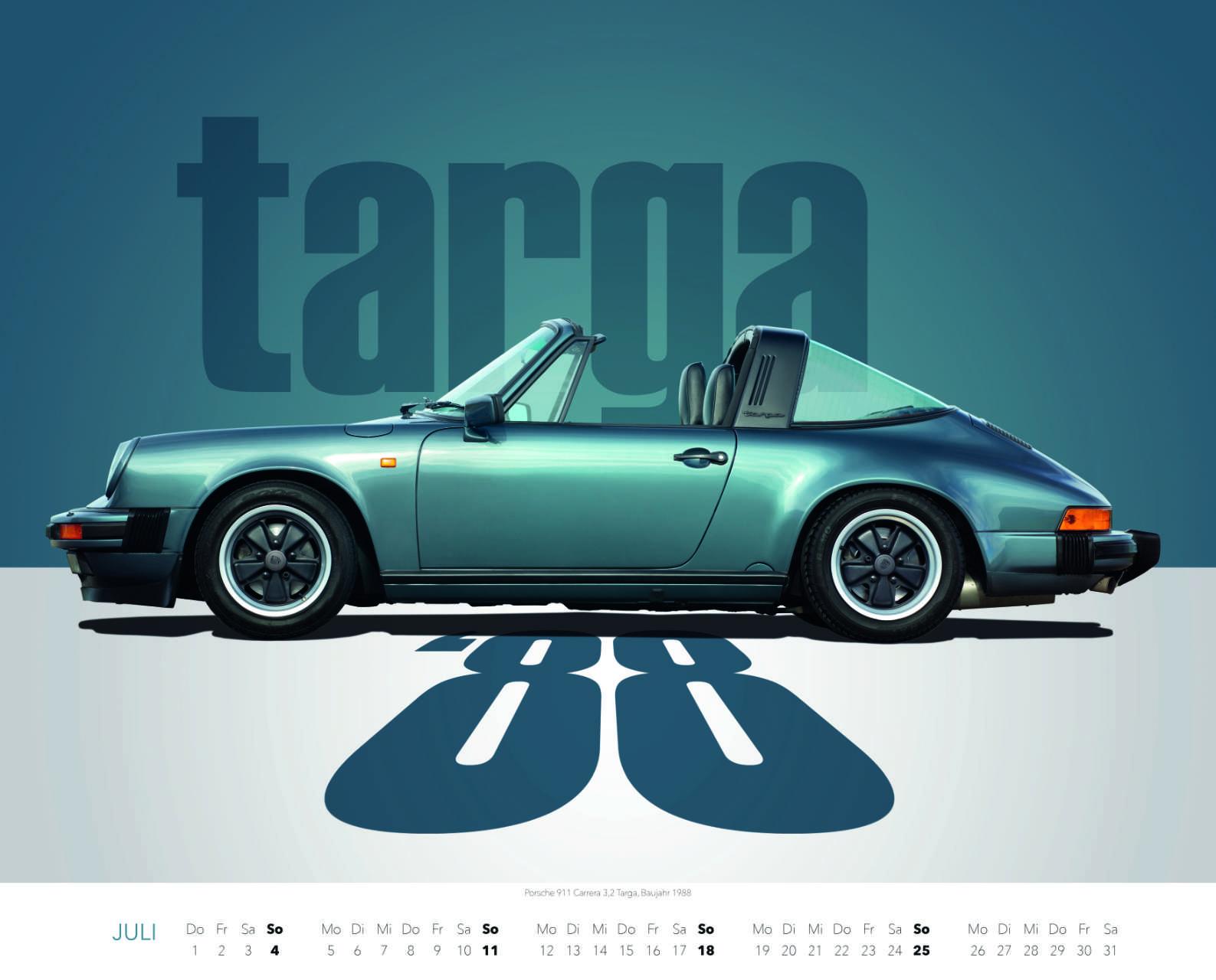 Best of Zuffenhausen 2021 Juli Porsche 911 Targa