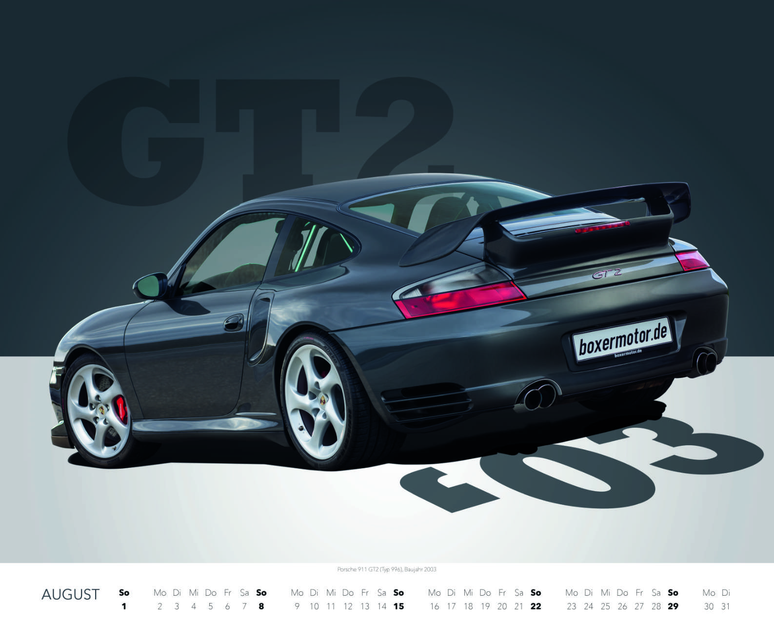 Best of Zuffenhausen 2021 November Porsche 911 GT2