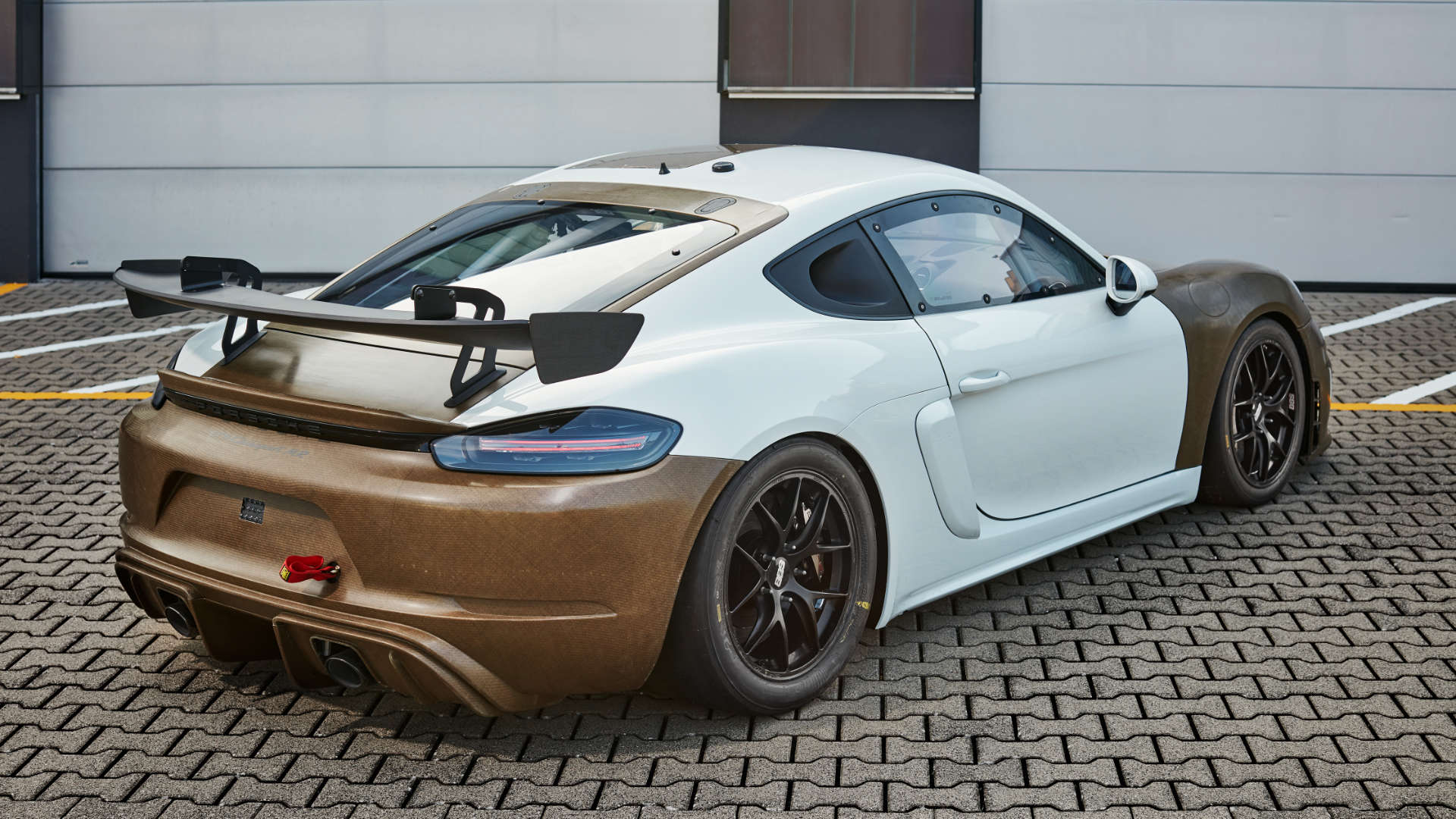 Porsche 718 Cayman GT4 Clubsport MR