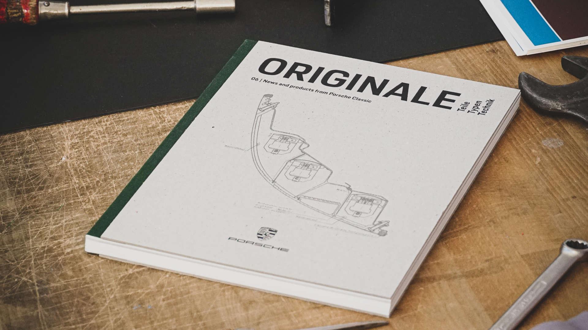 Porsche Classic Katalog ORIGINALE