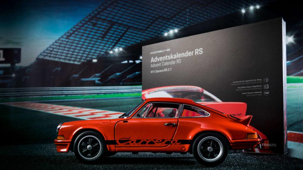 Franzis Adventskalender Porsche 911 Carrera RS