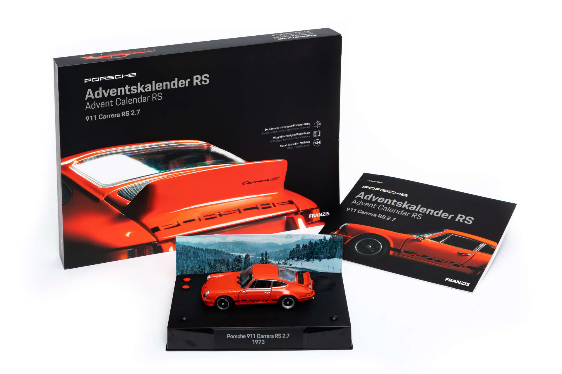 Franzis Adventskalender Porsche 911 Carrera RS