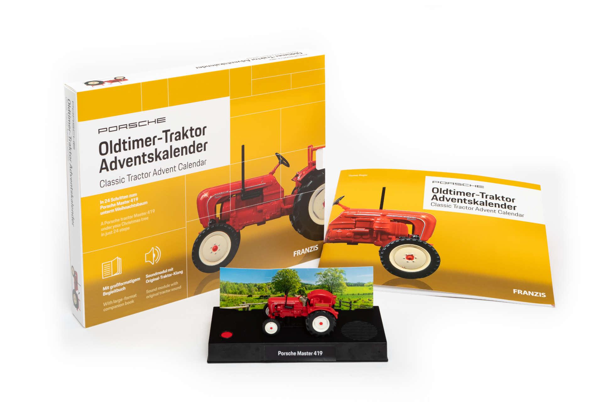 Franzis Adventskalender Traktor