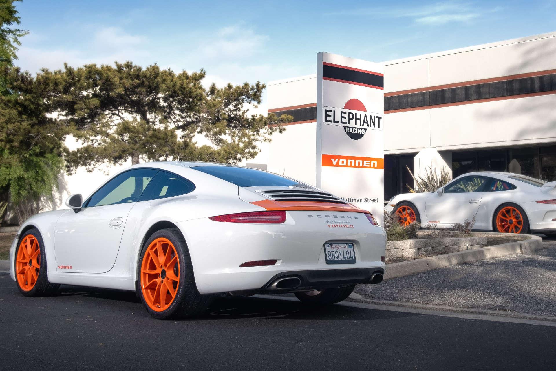Elephant Racing Porsche