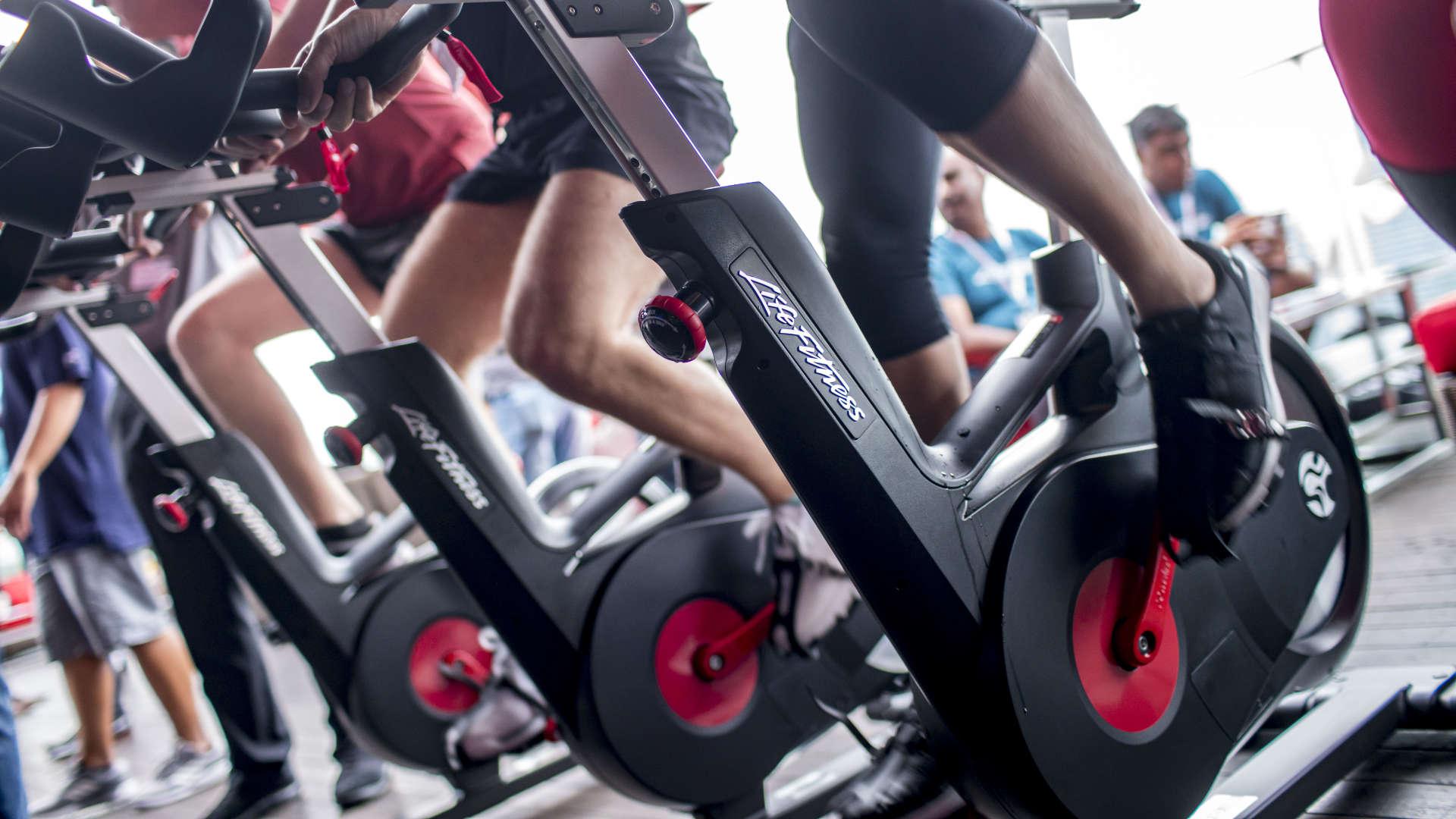 Indoor Cycle von Life Fitness