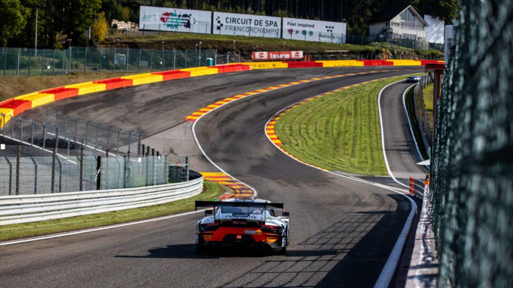 Eau Rouge Porsche 911 GT3 R