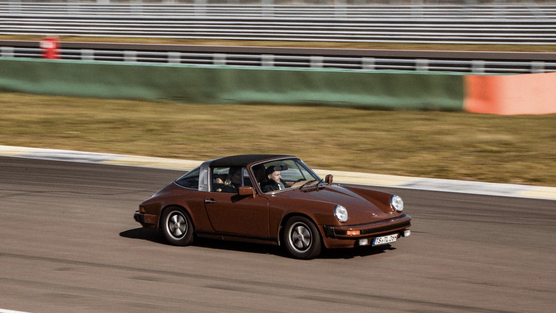 Porsche 911 Targa Richy Müller Tatort