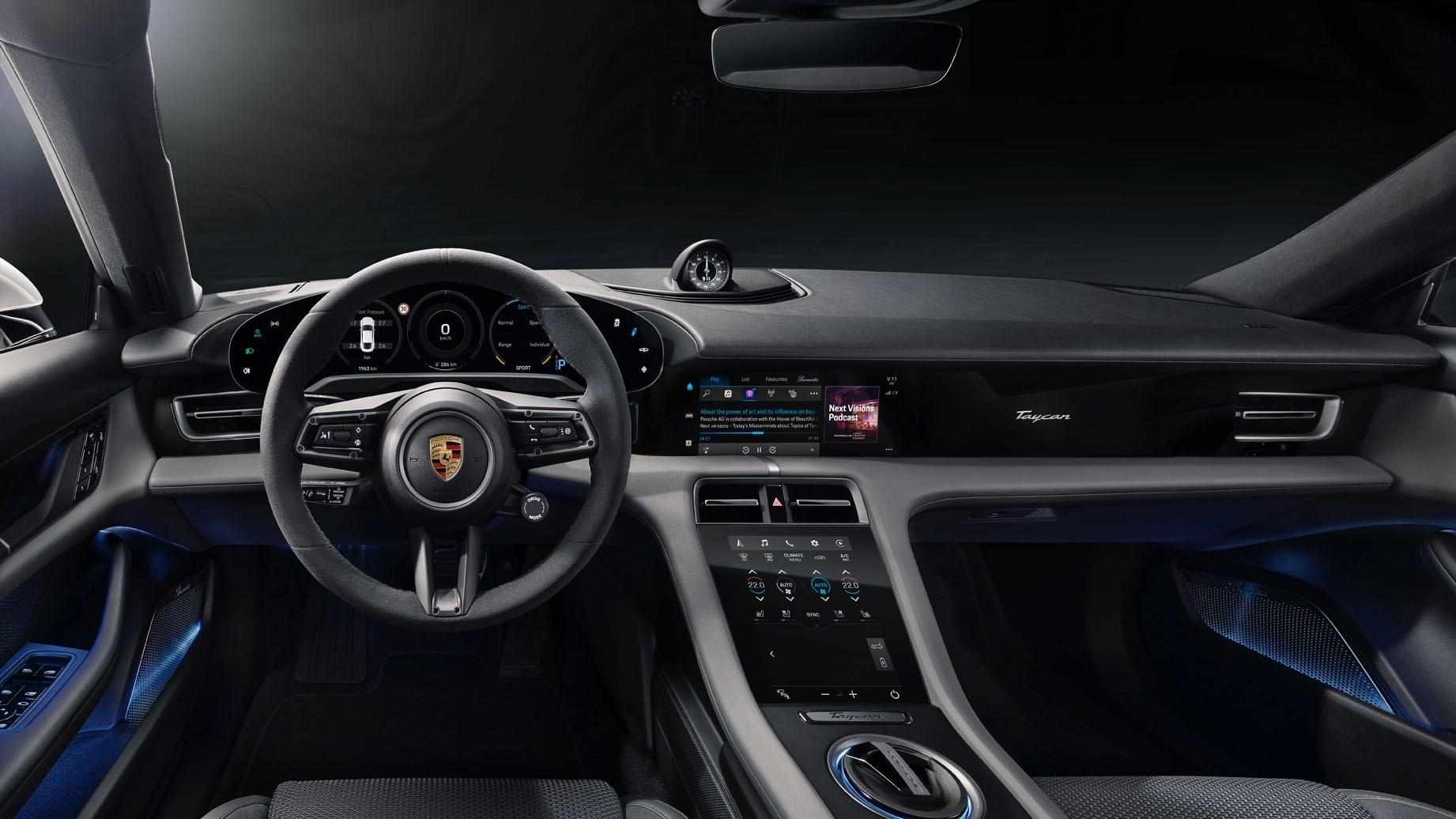 Porsche Taycan Interieur