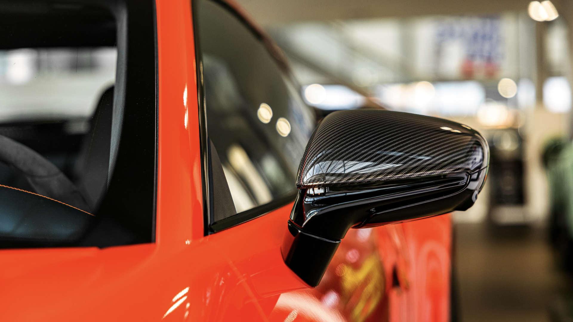 Porsche 911 Gijs van Lennep Rückspiegel