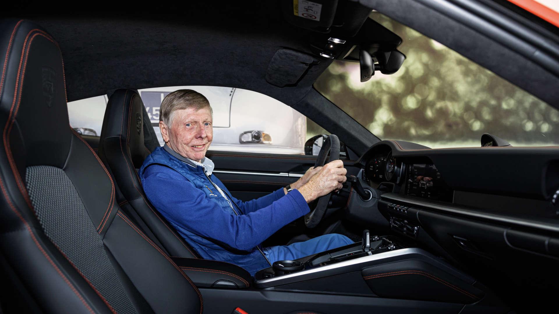 Gijs van Lennep im Porsche 911