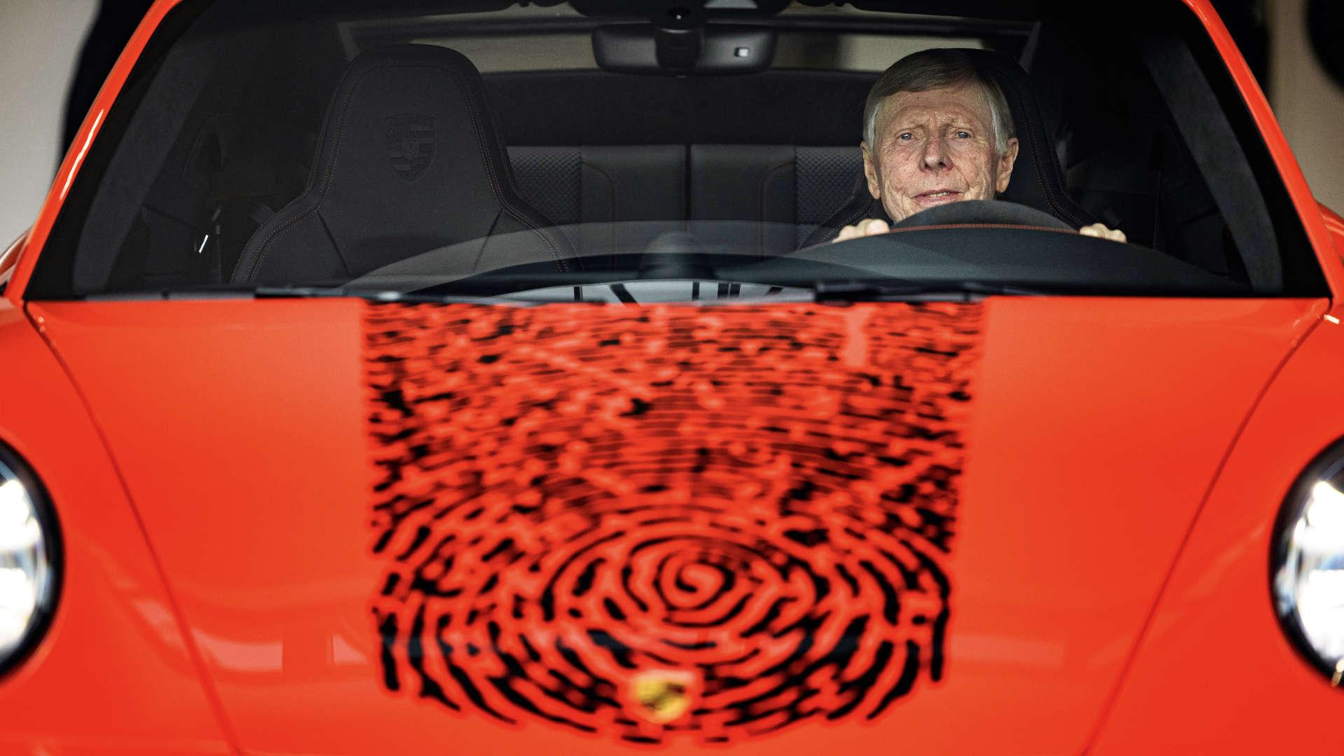 Gijs van Lennep Porsche 911 Fingerprint