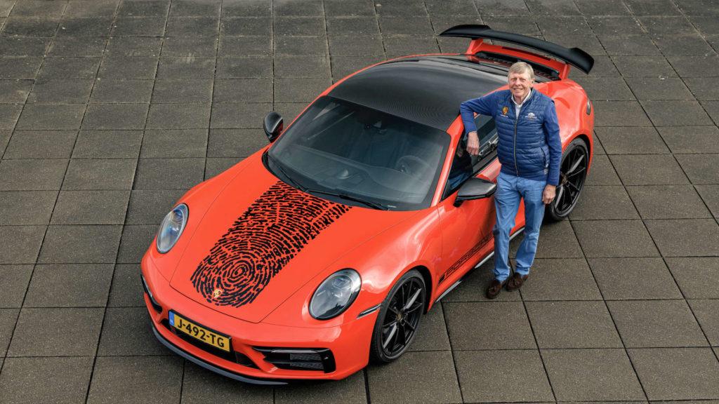 Gijs van Lennep Porsche 911