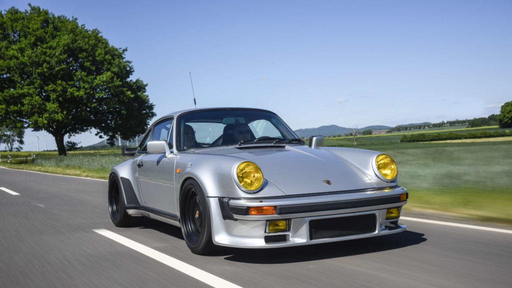 Porsche 911 Turbo Gruppe B Fahraufnahme