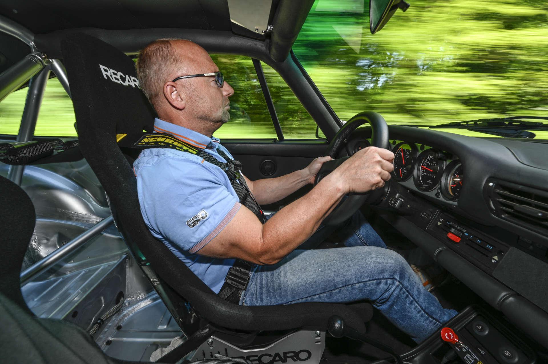 Porsche 911 Turbo Gruppe B Fahrer