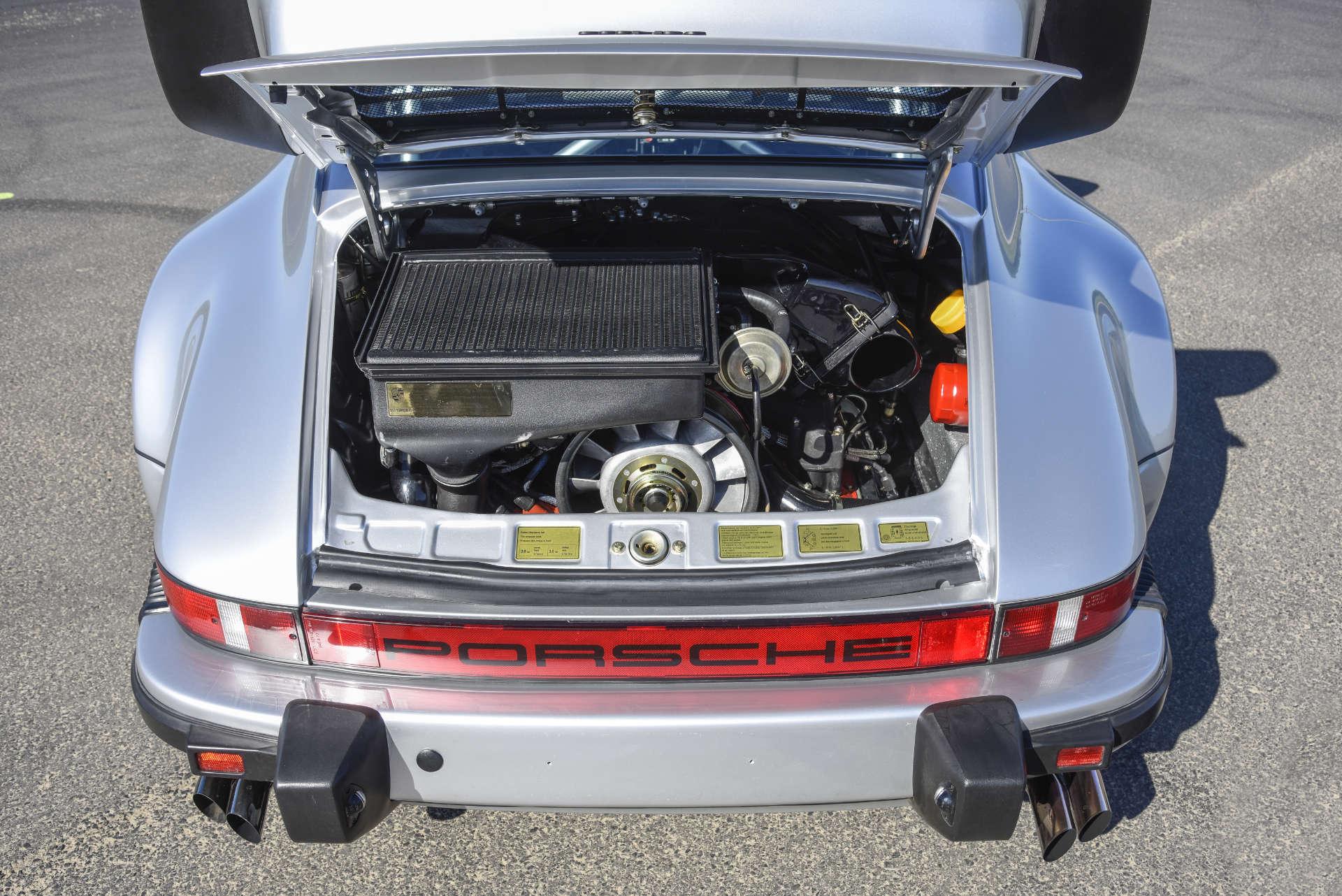 Porsche 911 Turbo Gruppe B Motor