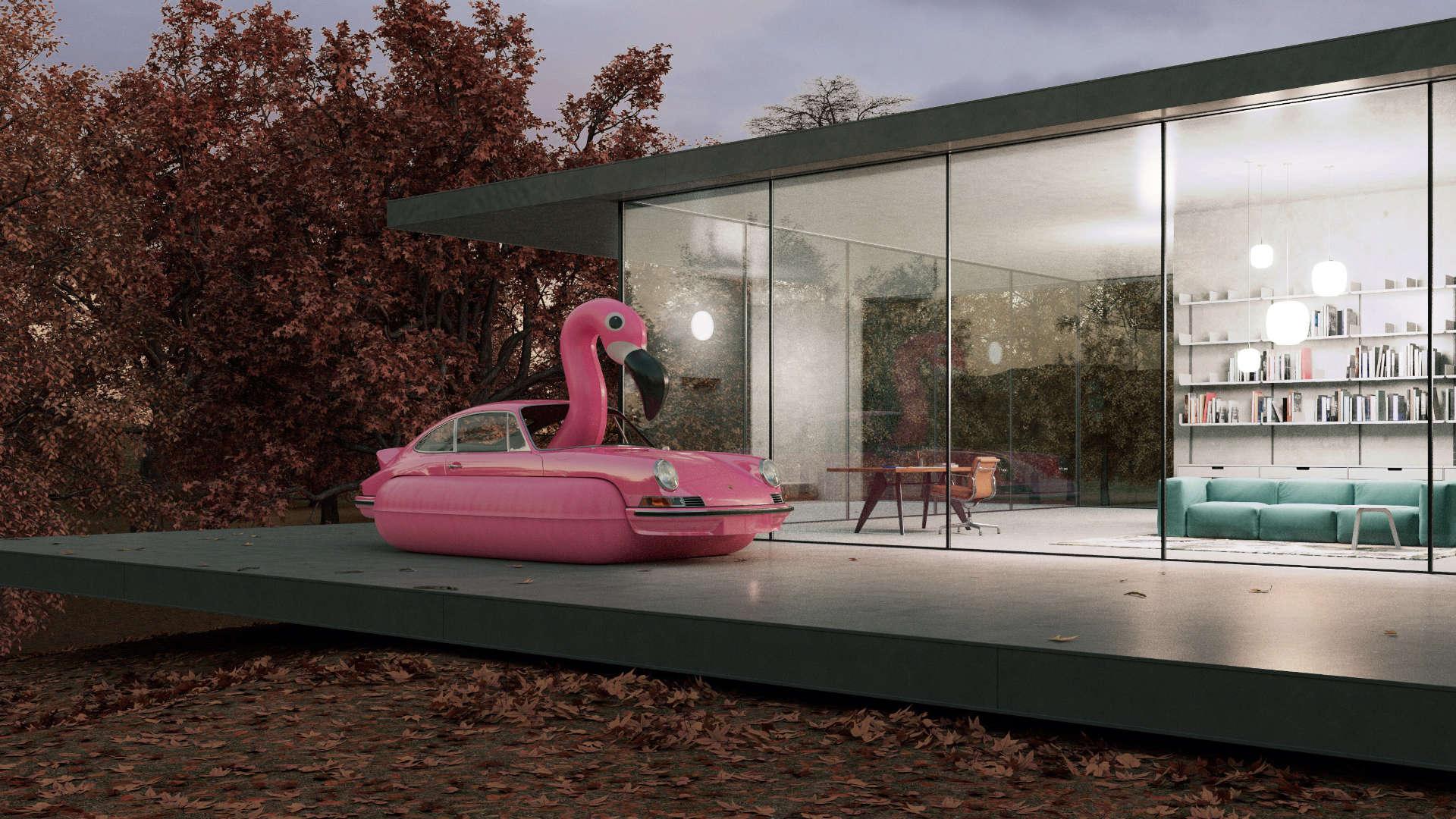 Chris Labrooy 911 RS Flamingo
