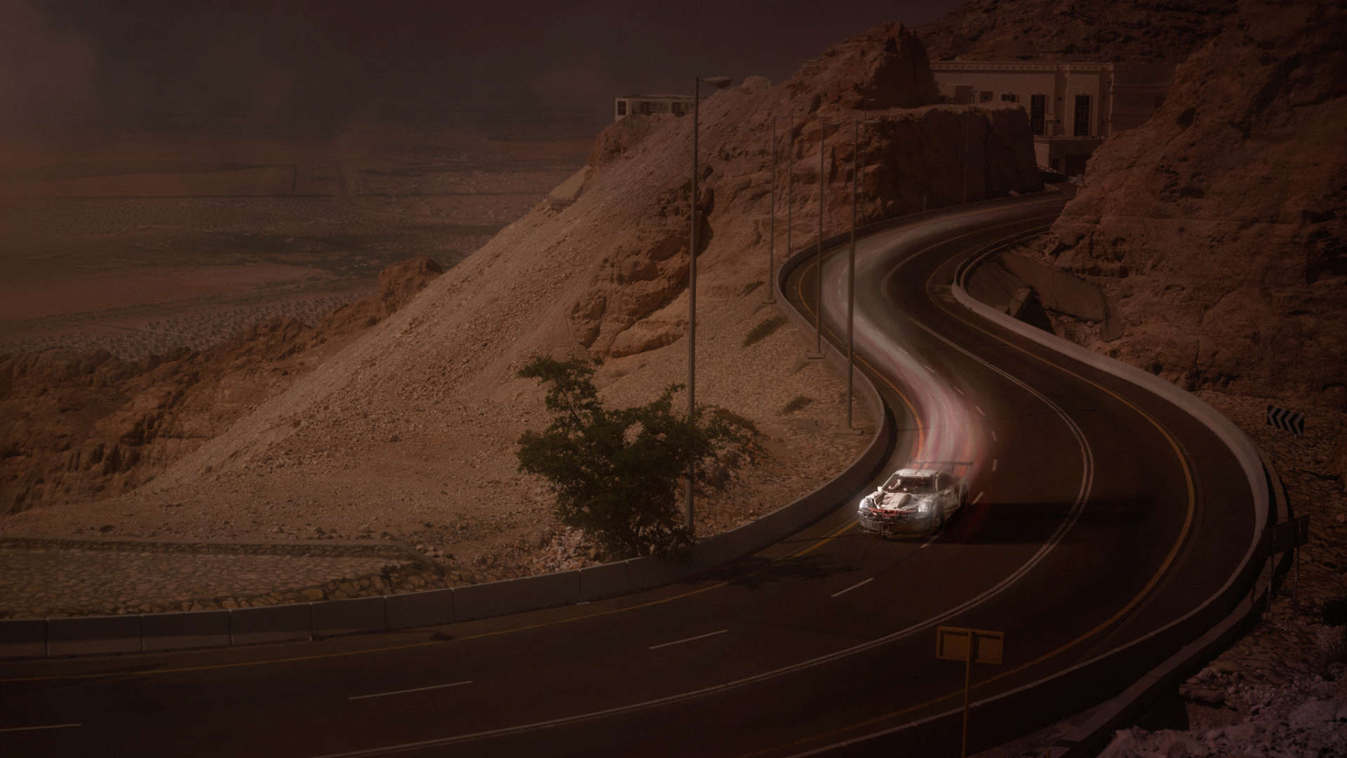 Lego Porsche 911 RSR Wüste