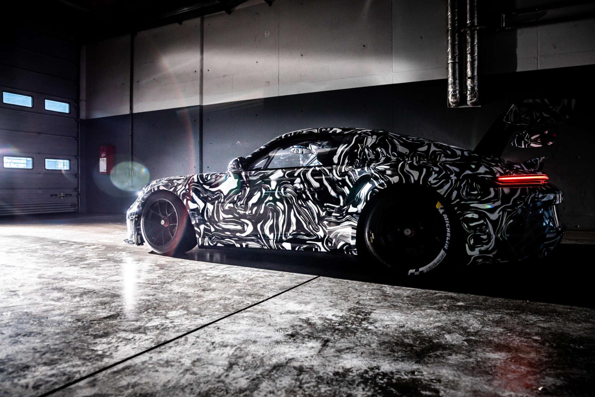 Porsche 911 GT3 Cup getarnt
