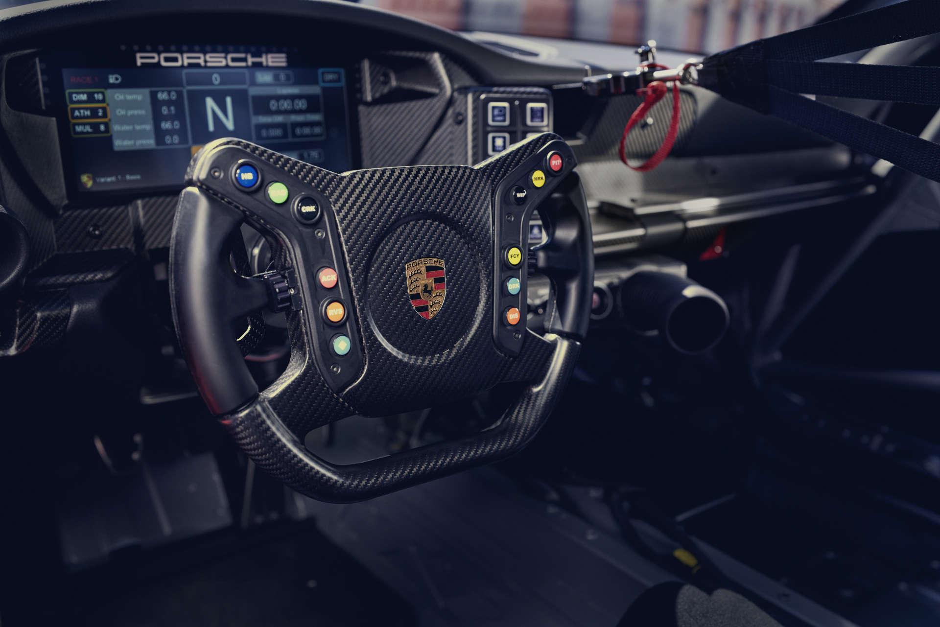 Porsche 911 GT3 Cup Lenkrad