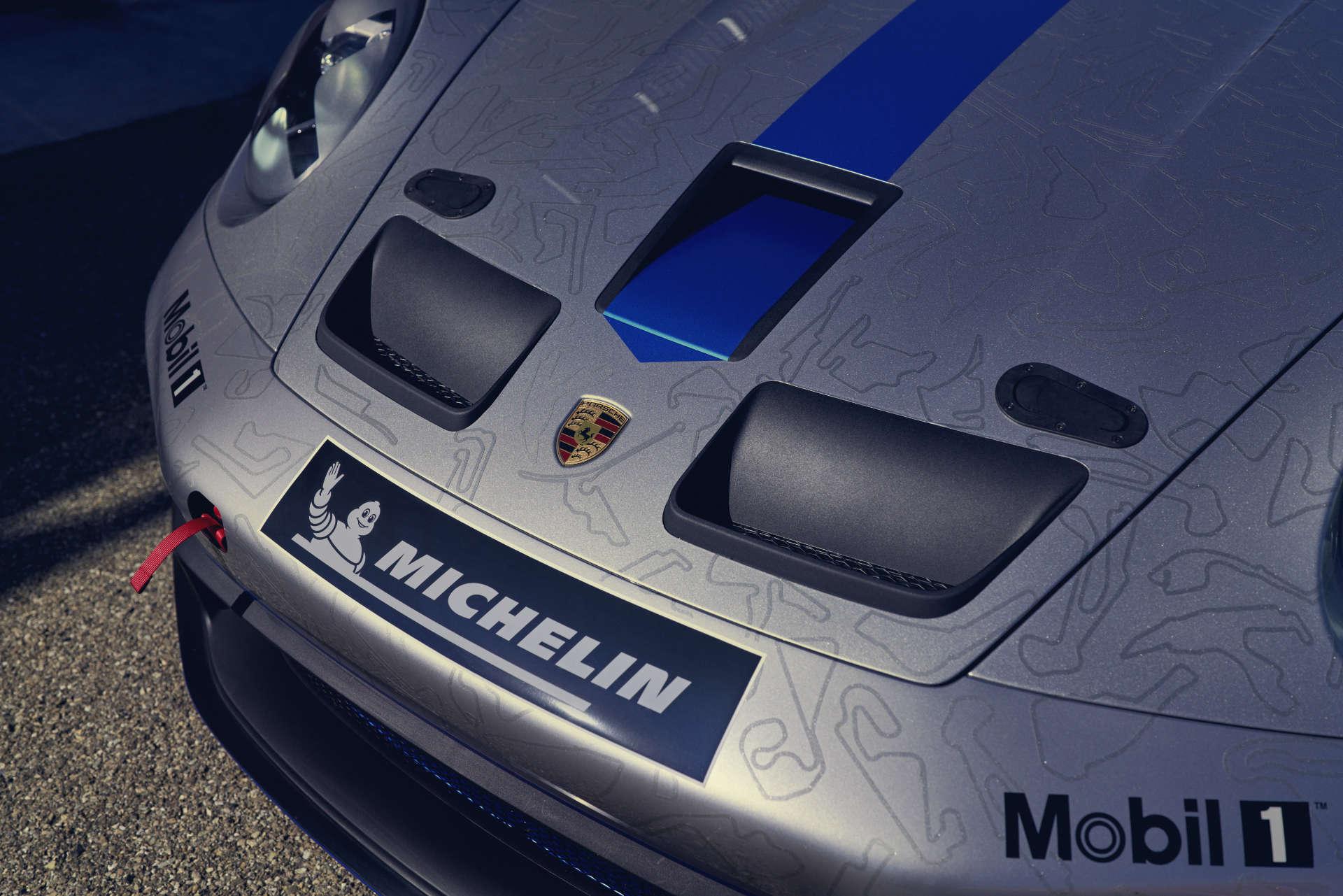 Porsche 911 GT3 Cup Motorhaube