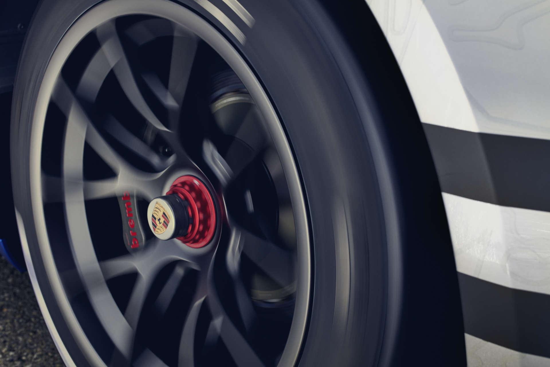 Porsche 911 GT3 Cup Reifen