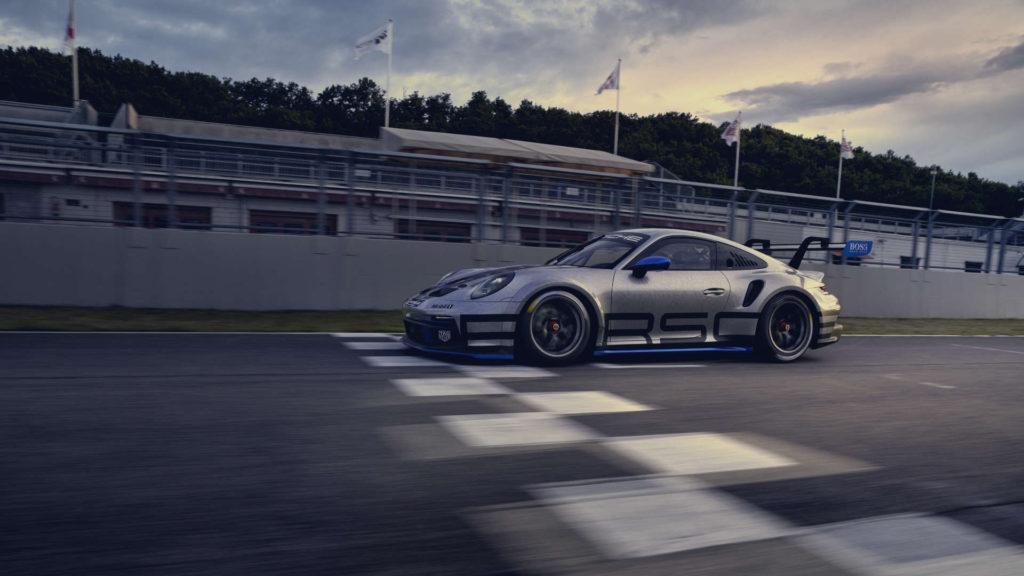 Porsche 911 GT3 Cup Ziellinie