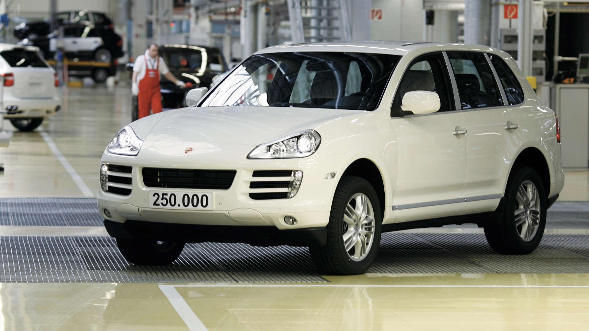 Porsche Cayenne 250000