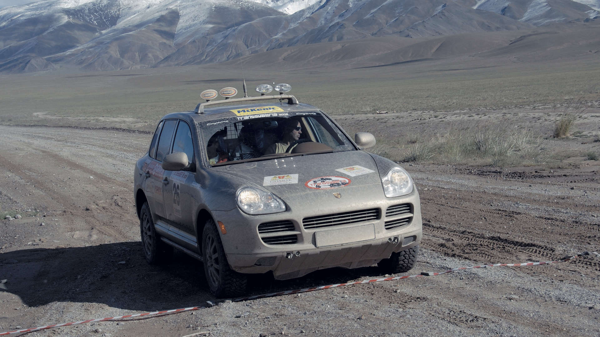 Porsche Cayenne S E1 Rallye Transsyberia 2006