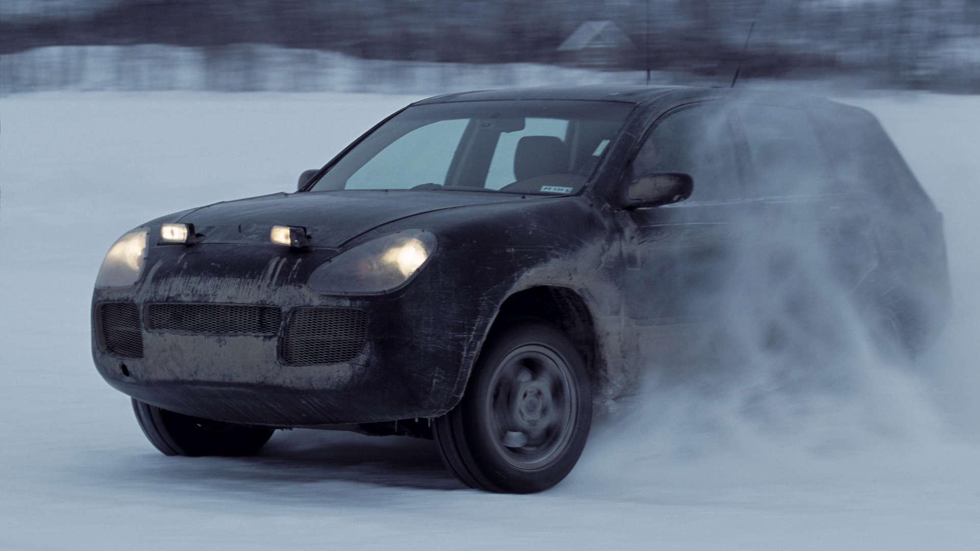 Porsche Cayenne Wintererprobung