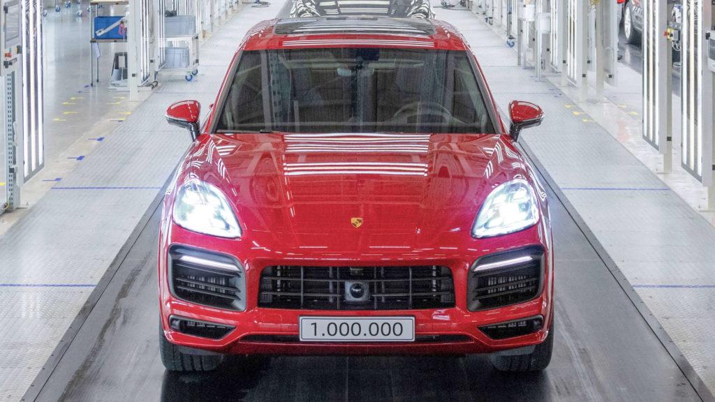 Porsche Cayenne eine Million
