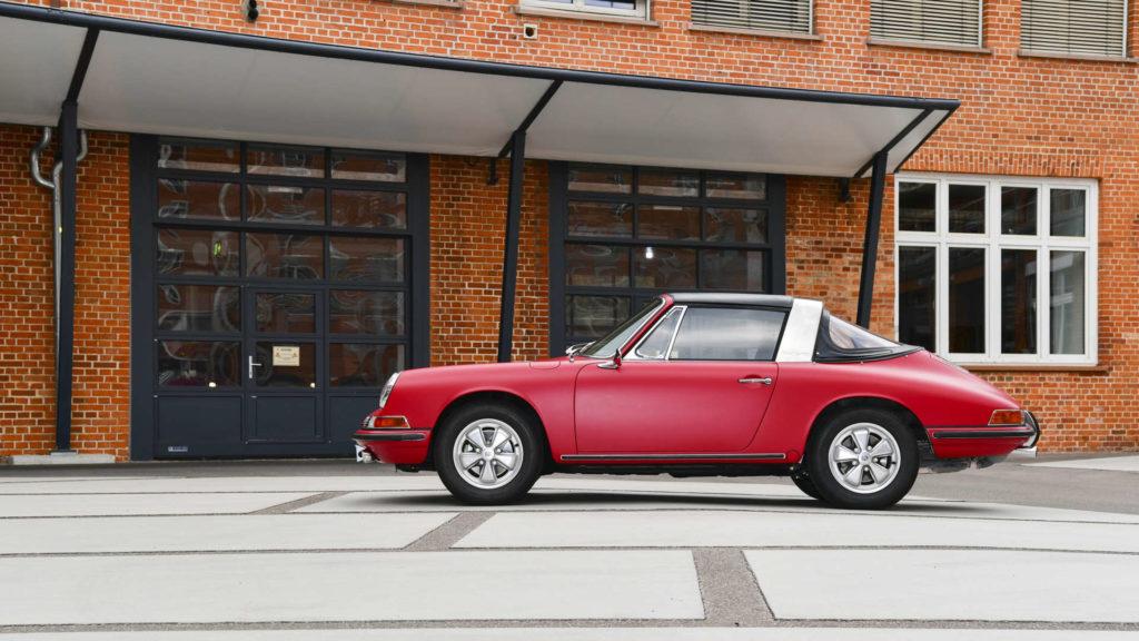 Restaurierter Porsche 911 S Targa von 1967