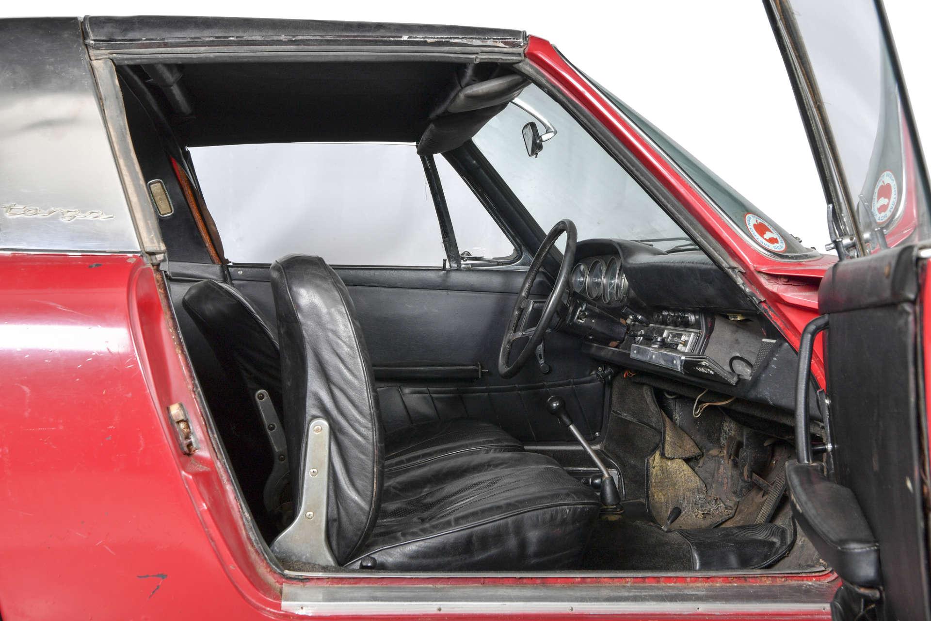 Anlieferungszustand Porsche S Targa von 1967