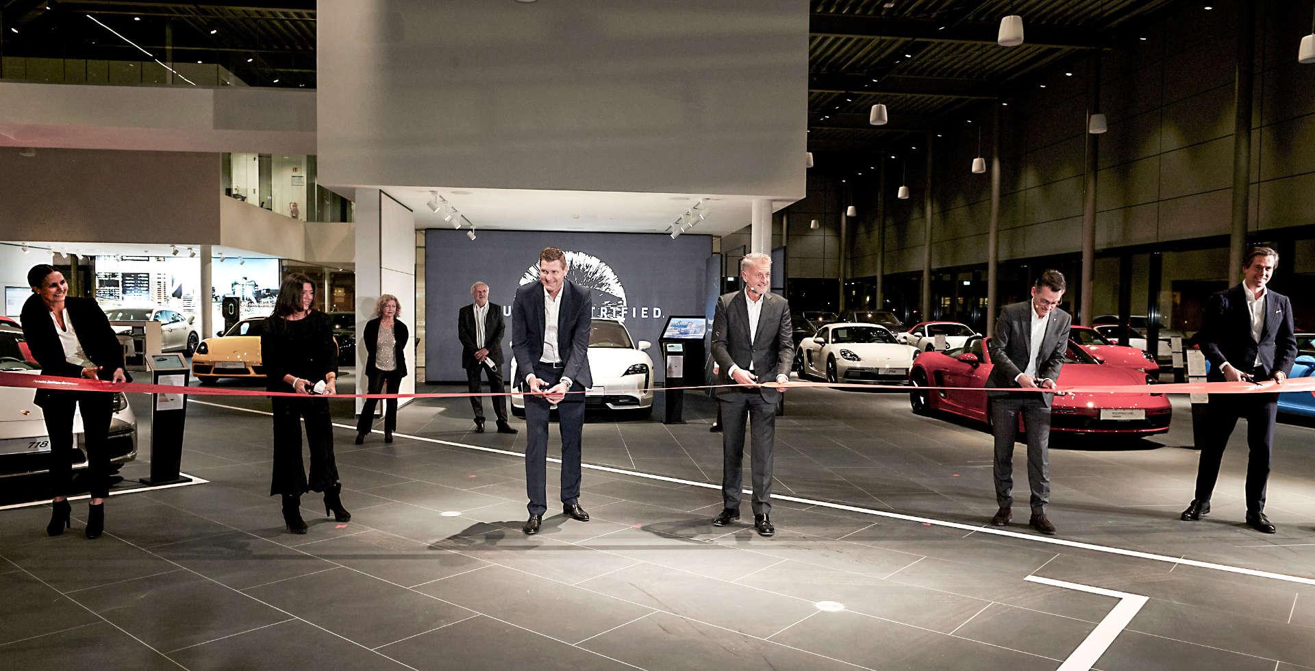 Eröffnung Porsche Zentrum Dortmund