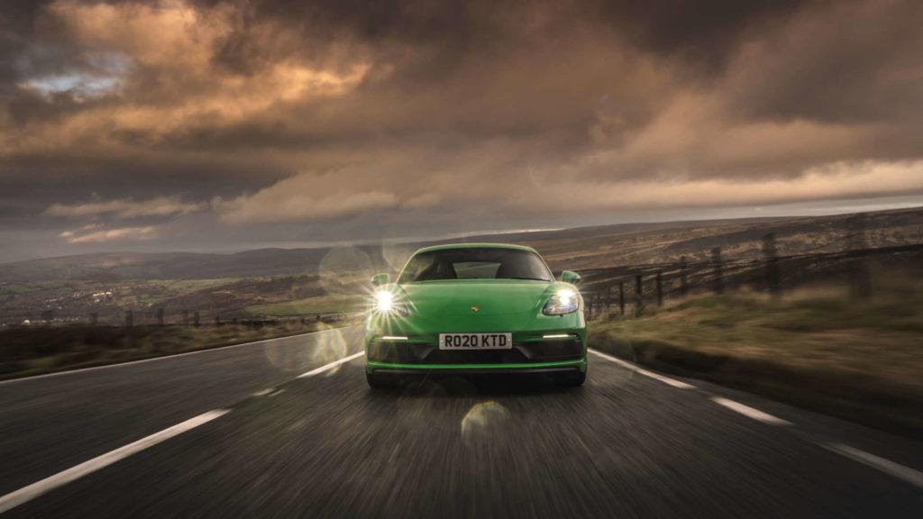 Porsche 718 Cayman GTS Snake Pass
