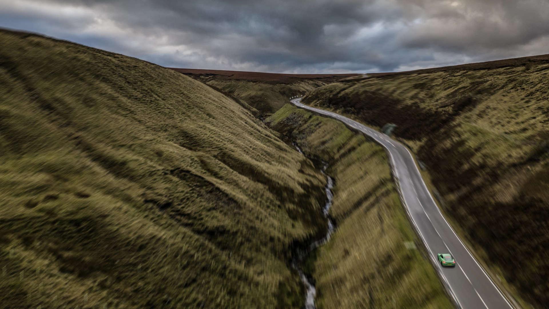 Snake Pass Roads by Porsche