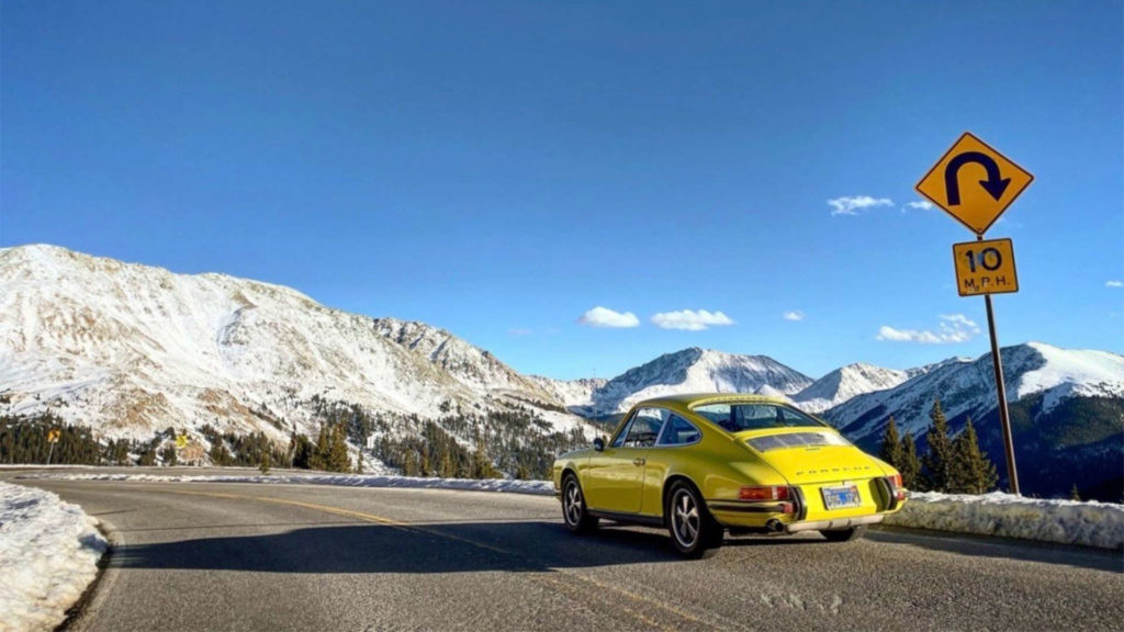 Porsche 911 T Jeff Zwart Colorado