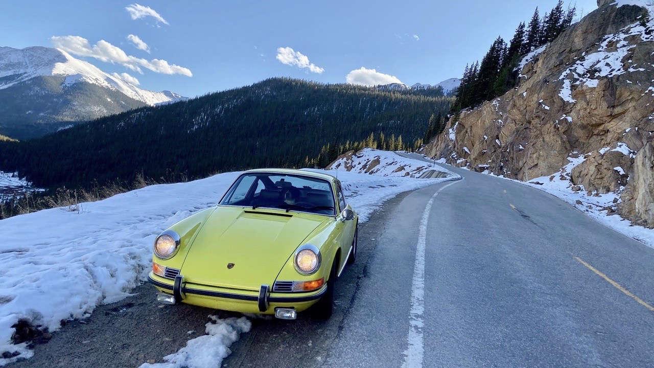 Porsche 911 T Jeff Zwart Colorado
