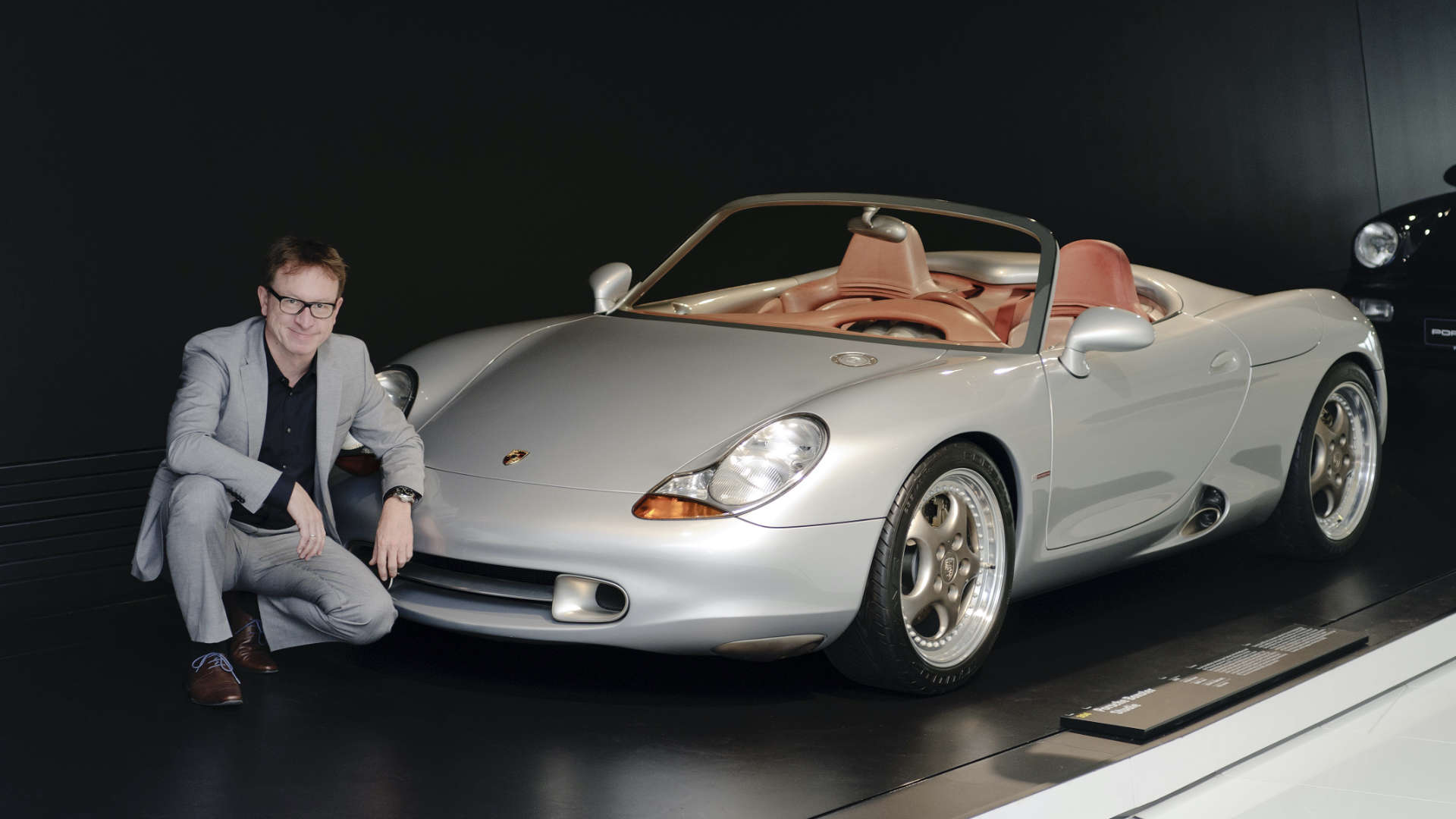 Grant Larson Konzeptstudie Porsche Boxster