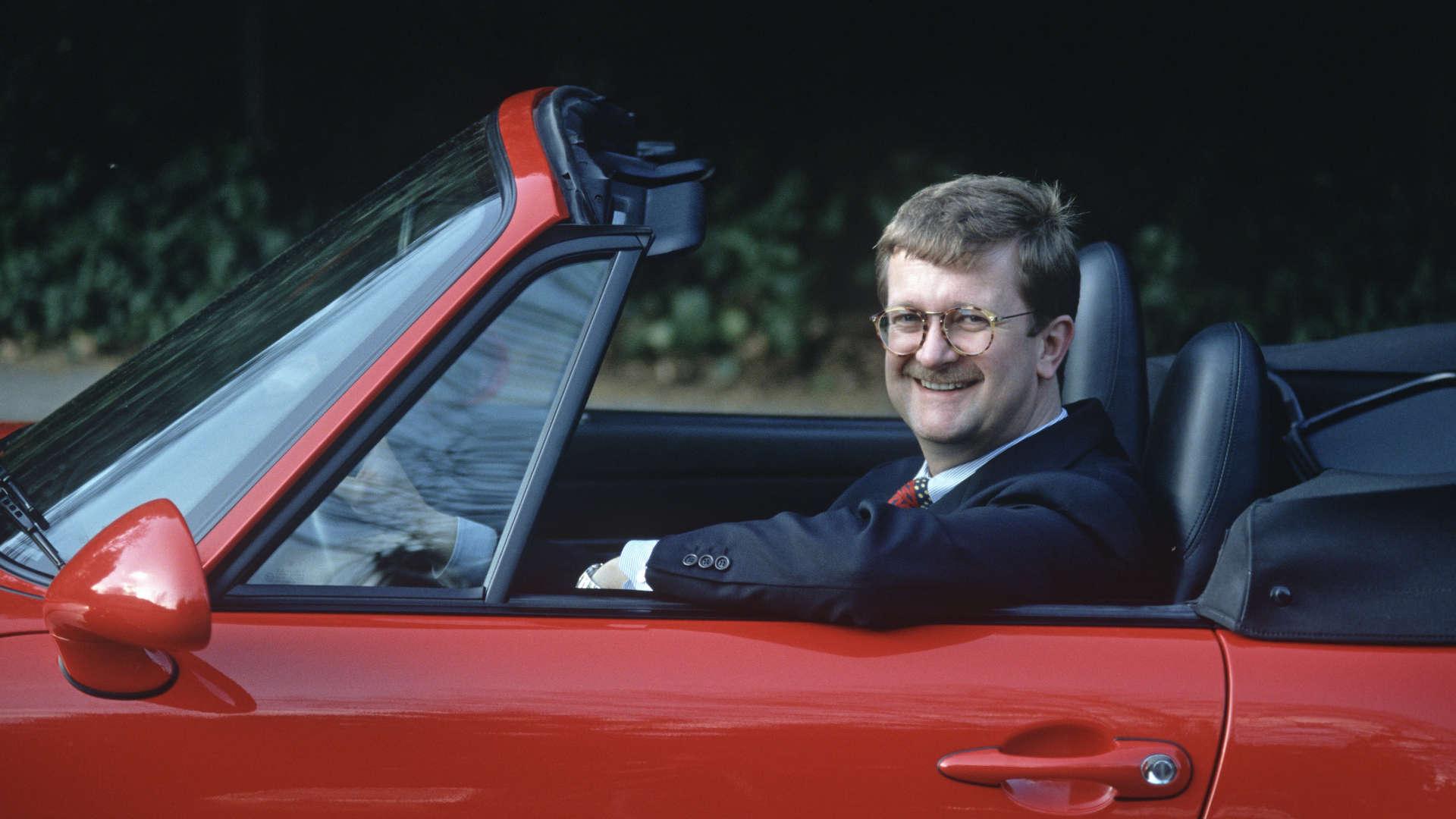 Wendelin Wiedeking Porsche Boxster 1995