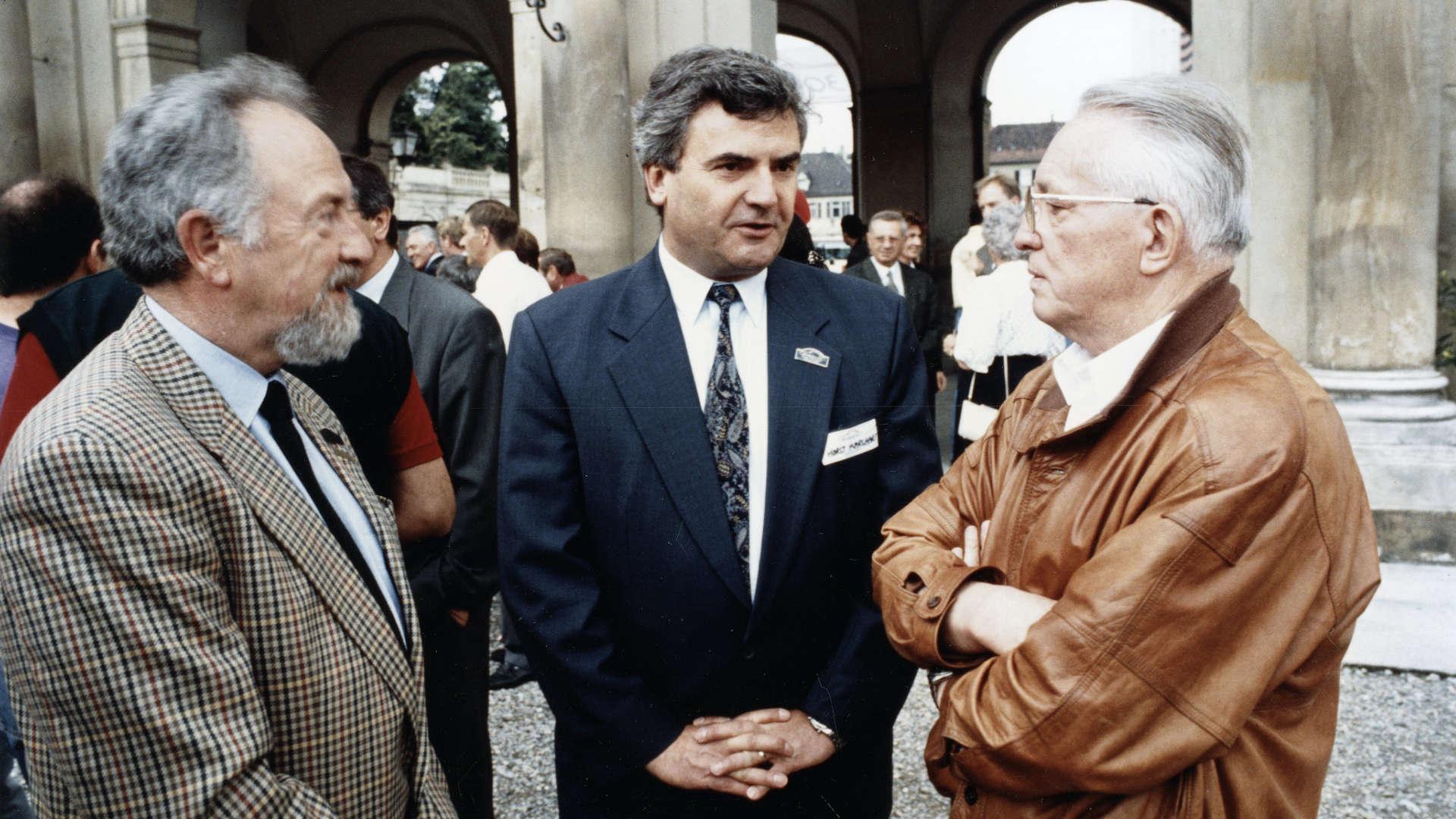 Ferdinand Alexander Porsche, Horst Marchart, Helmuth Bott, 1993