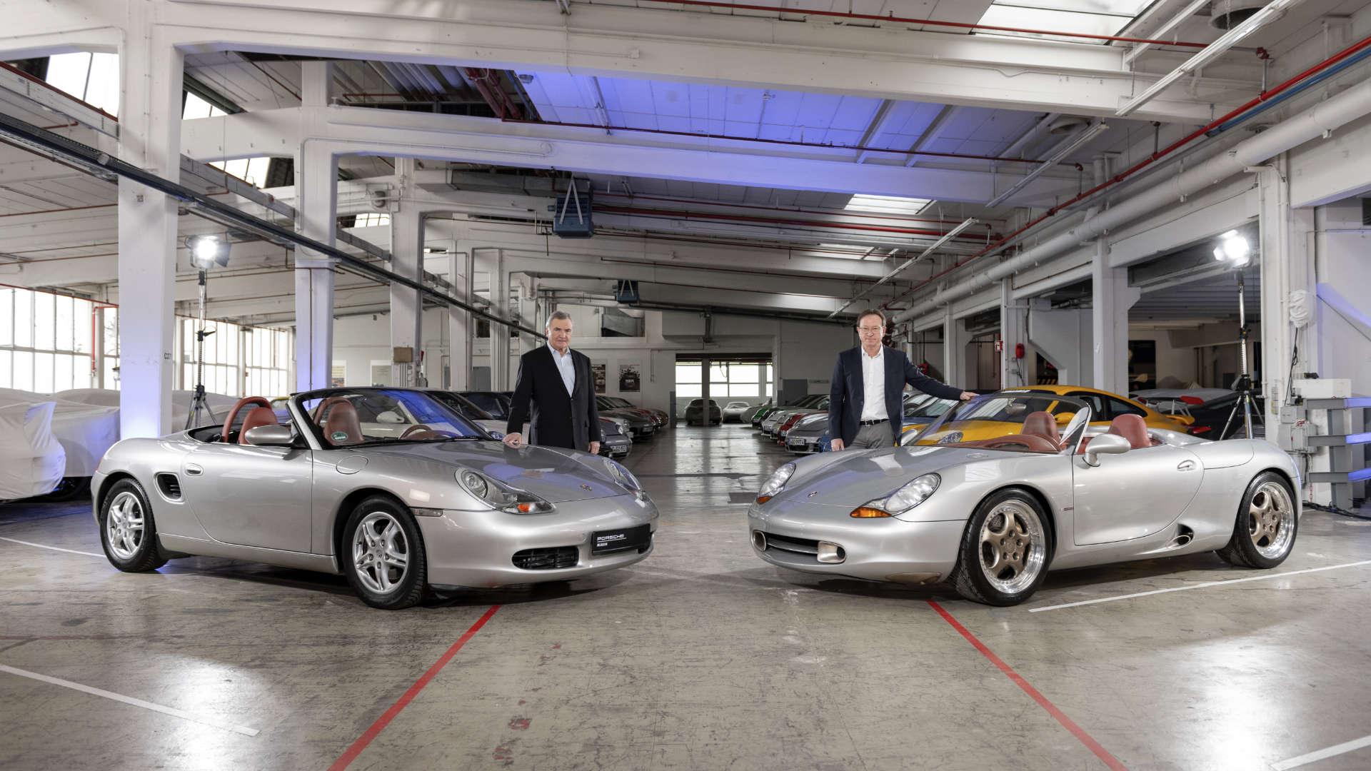 Horst Marchart Grant Larson Porsche Boxster 986 Urmodell Konzeptstudie Boxster