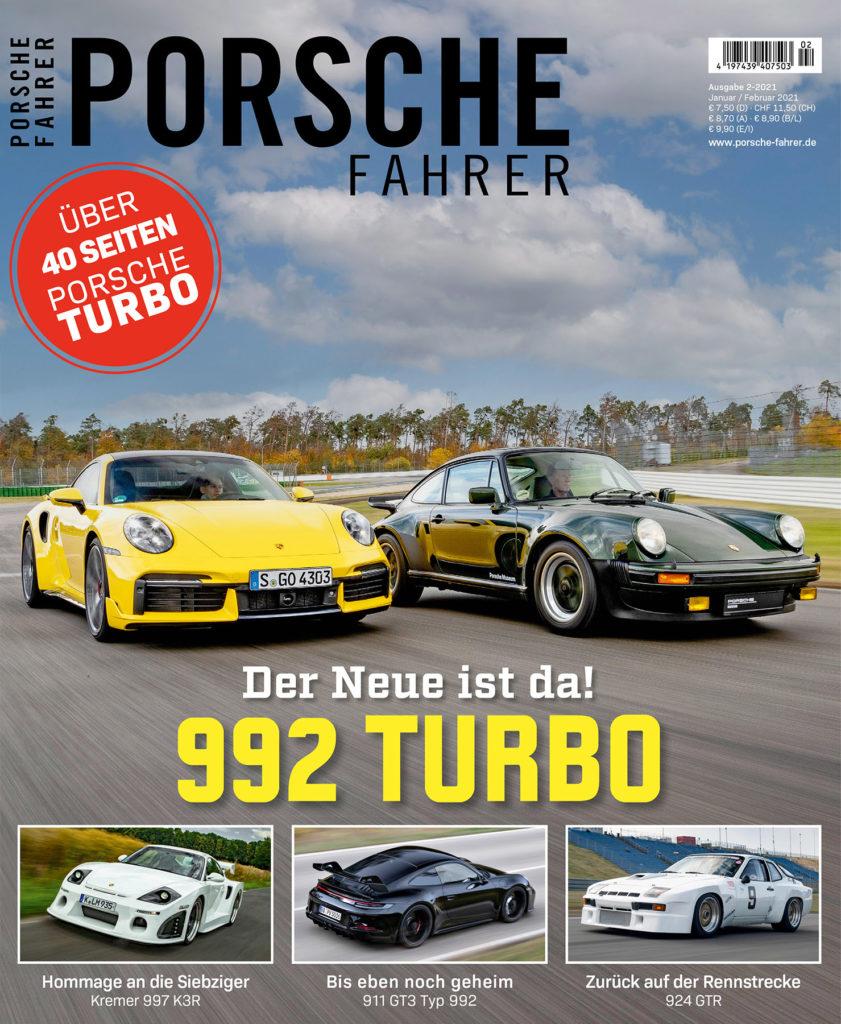 PORSCHE FAHRER 2-2021 Cover