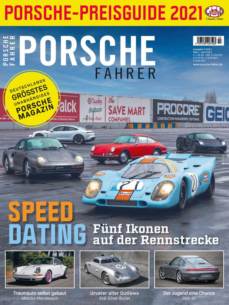 PORSCHE FAHRER 3-2021 Cover