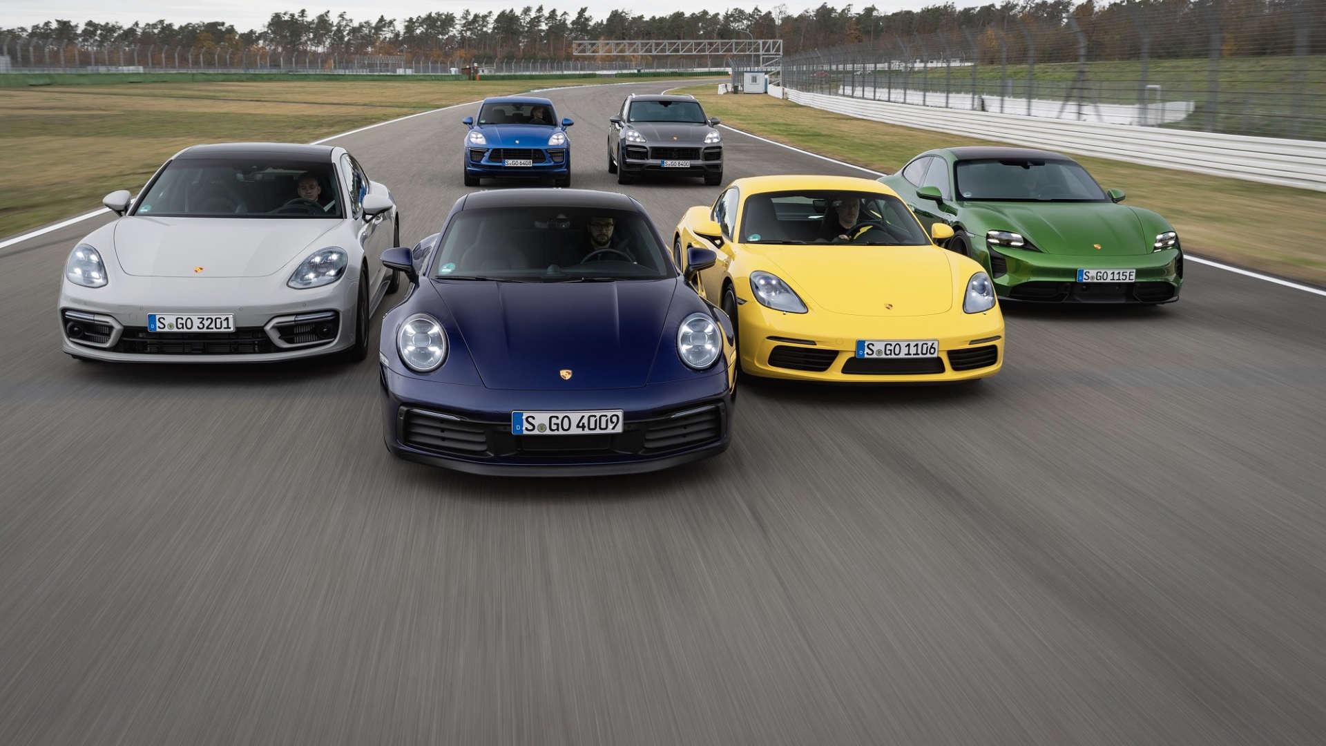 Porsche Auslieferungen