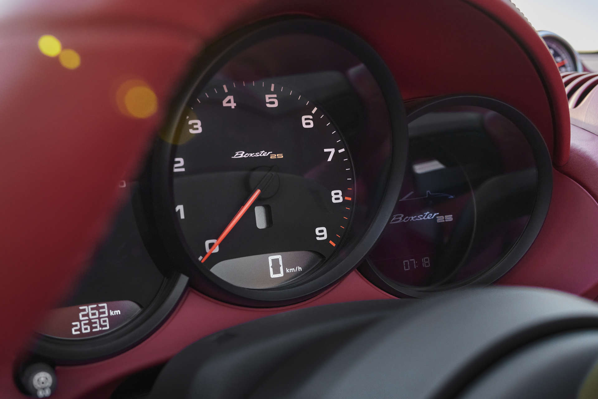 Porsche Boxster Tacho